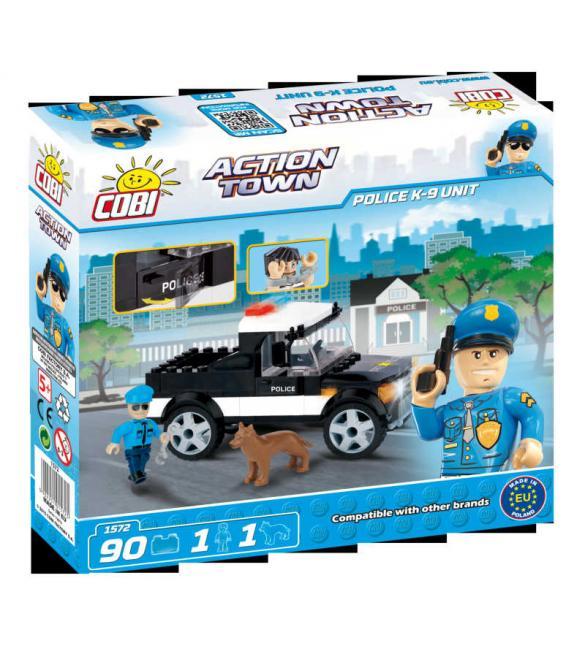 Конструктор Cobi Action Town - Полицейский отряд К-9