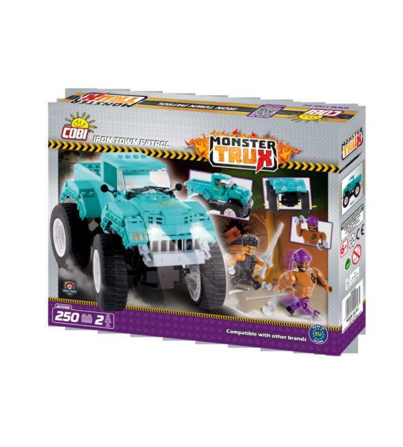 Конструктор Cobi Monster Trux - Патруль Железного города
