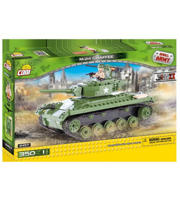 "Конструктор Cobi Small Army WWII - Танк M-24 ""Chaffee"" (США)"