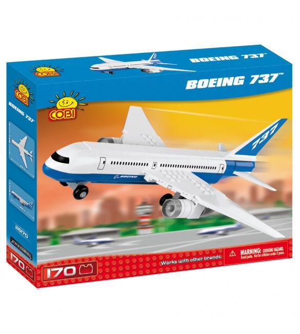 Конструктор Cobi Самолет Boeing 737