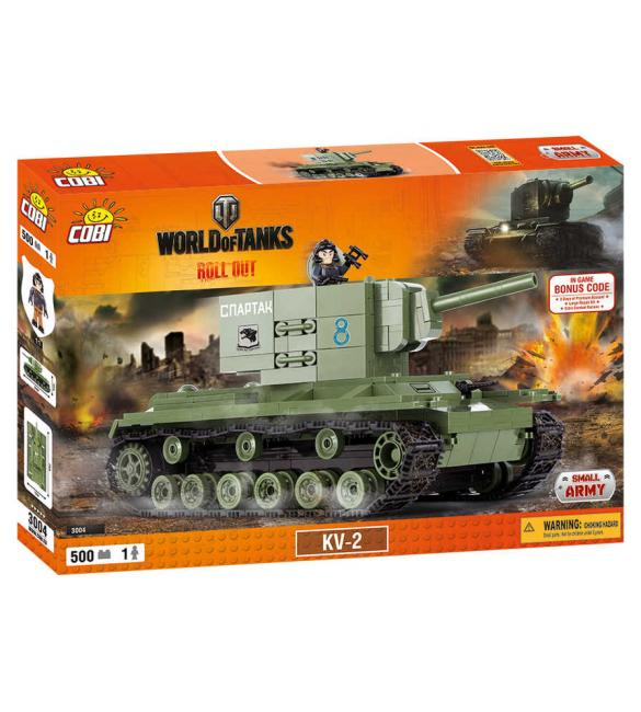 Конструктор Cobi Word Of Tanks КВ-2