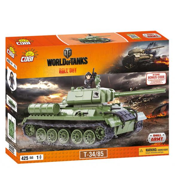 Конструктор Cobi Word Of Tanks Т-34/85