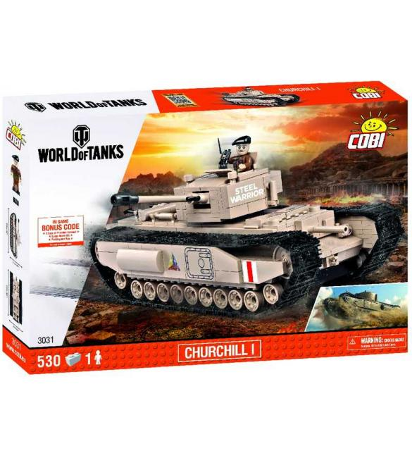 Конструктор COBI World Of Tanks Mk IV, Черчиль I