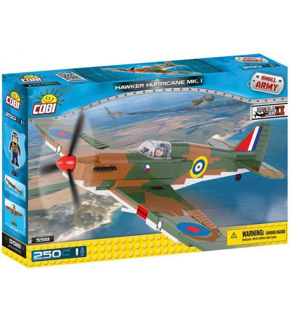 Конструктор Cobi Small Army WWII Самолет Хоукер Харрикейн