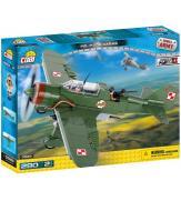 Конструктор Cobi Вторая Мировая Война Самолет PZL Карась P-23B