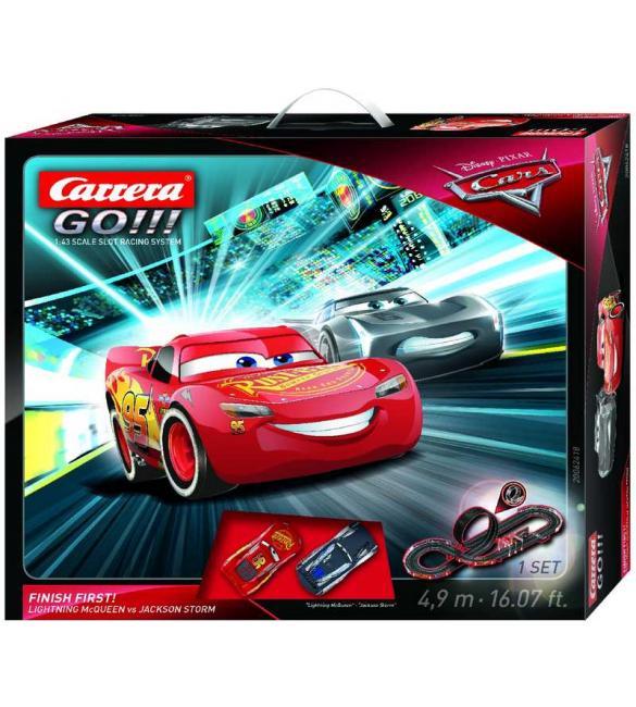 Автотрек Carrera GO!!! Тачки 3 Будь первым