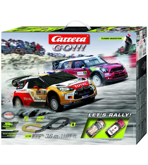 Автотрек Carrera GO!!! Давай поганяем