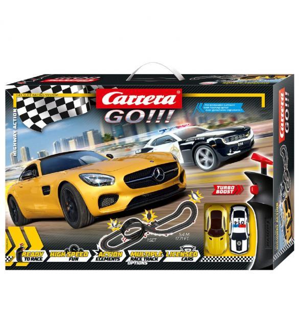 Автотрек Carrera GO!!! Шоссейные гонки, длина трассы 5.4м