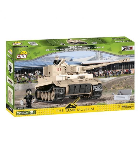 Конструктор COBI Танк Тигр I , 550 деталей