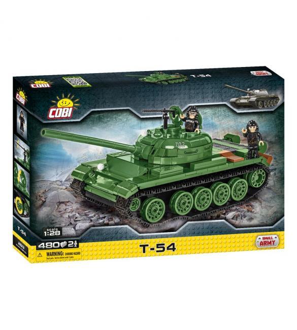 Конструктор COBI Танк Т-54, 480 деталей