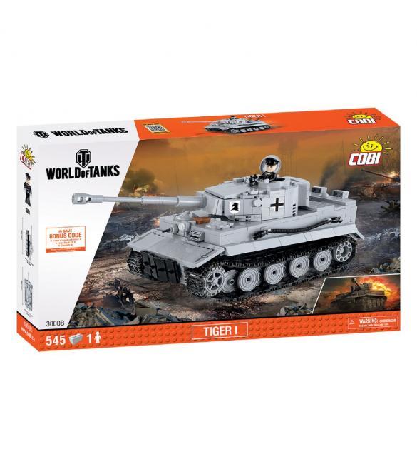 Конструктор COBI World Of Tanks Тигр I, 545  деталей
