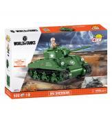 Конструктор COBI World Of Tanks Шерман Файрфлай, 500  деталей
