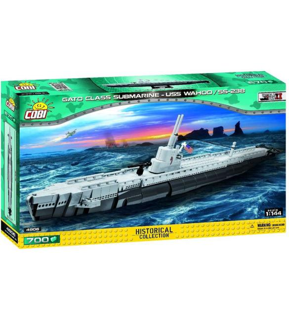 Конструктор COBI Подводная лодка Ваху (SS-238)