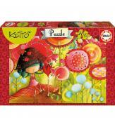 Пазлы Кетто Цветочные джунгли 200