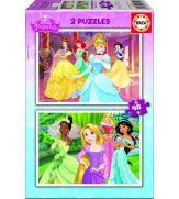 Пазлы Диснеевские принцессы 2 по 48