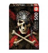 Пазлы Пиратский череп 500
