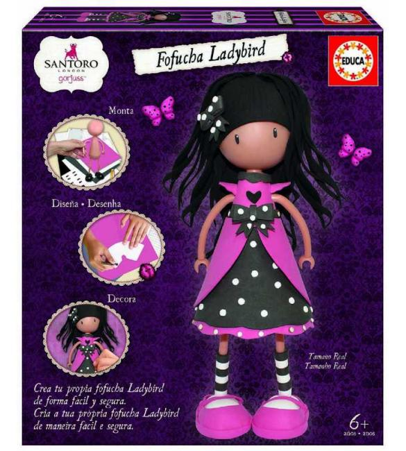 """Набор для творчества """"Кукла Фофуча Ladybird GORJUSS"""""""