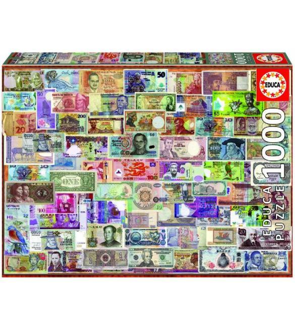 Пазлы Банкноты 1000