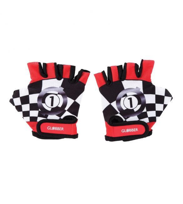 Перчатки защитные детские GLOBBER, красные, до 25кг, 2+