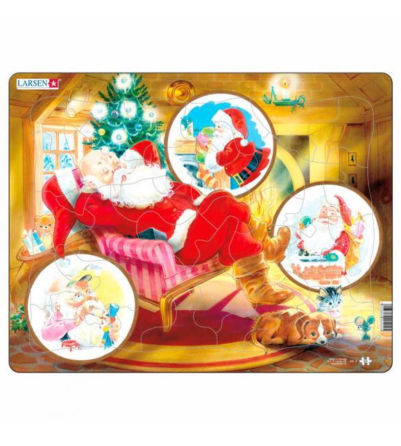 Пазлы Дед Мороз