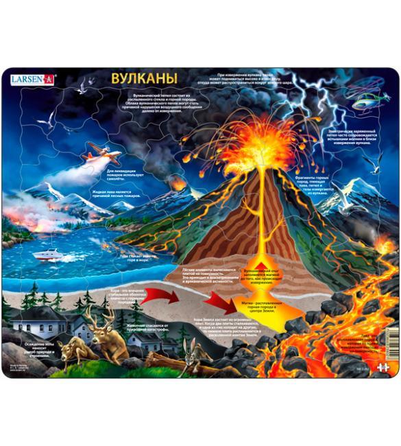 Пазлы Вулканы