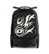 Рюкзак на колесах NIKIDOM  White Fire, серии ROLLER XL