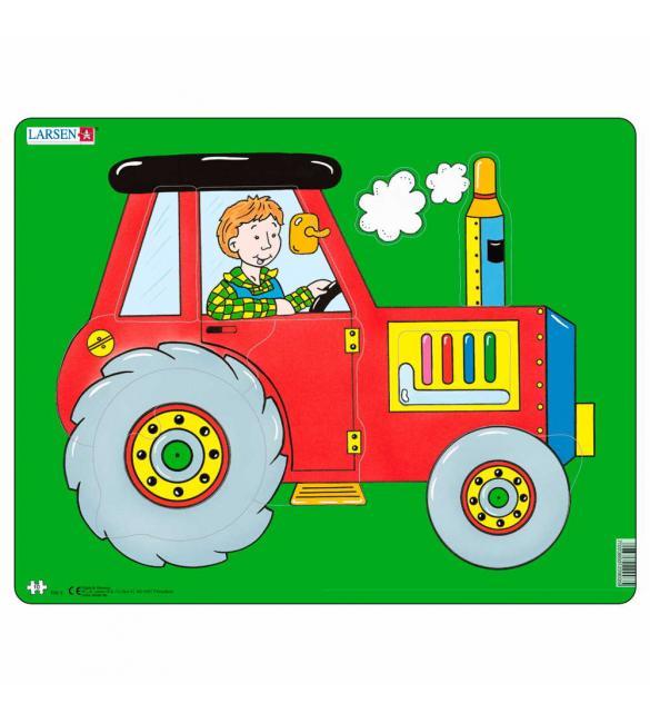 Пазлы Трактор