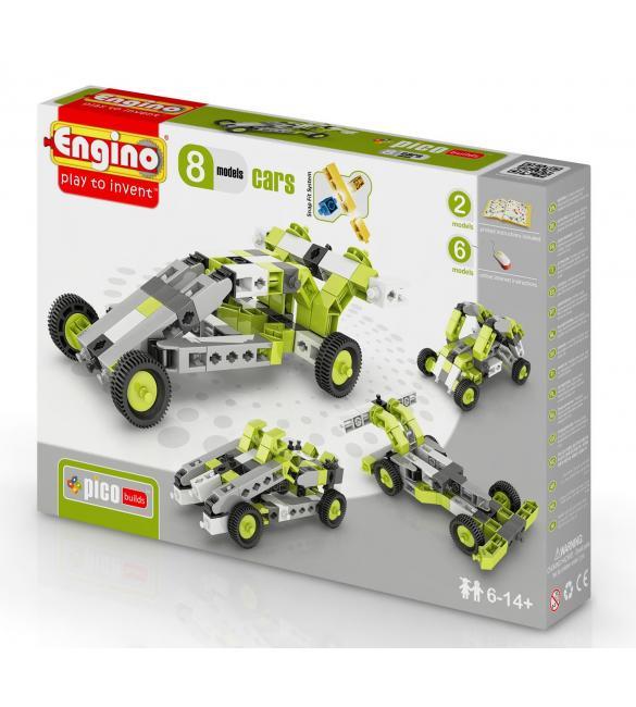 Конструктор Машинки, 8 моделей