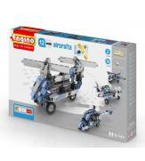 Конструктор Самолеты, 12 моделей