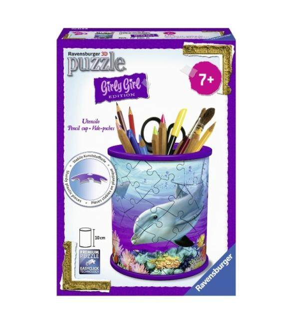"3D ПАЗЛ GIRLY GIRL ""Подставка для карандашей Подводный мир"""