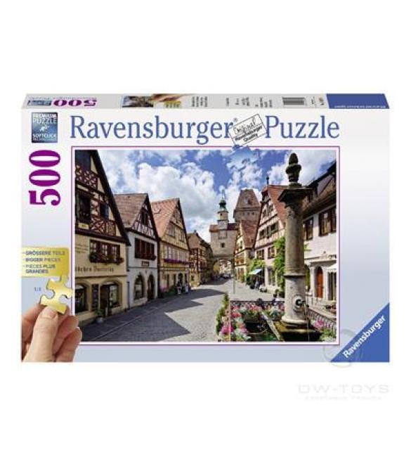 Пазлы Ротенбург-об-дер-Таубер, Бавария 500