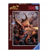 Пазлы Огненный дракон 500