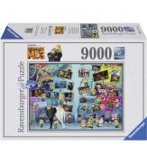 Пазлы Миньоны 9000 элементов