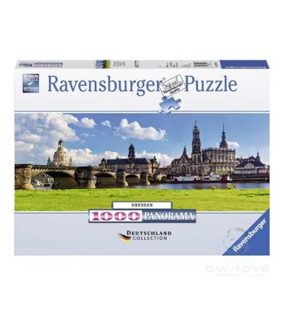 Пазлы Панорама Дрездена 1000