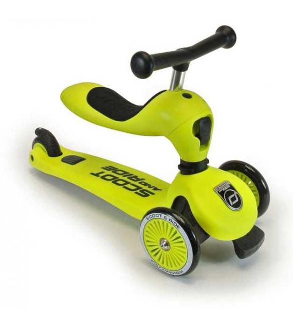 Самокат Scoot and Ride серии Highwaykick-1 зеленый, от 1 года/20-50 кг
