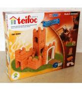 Керамический строительный набор-конструктор из кирпичиков Teifoc Крепость Роза