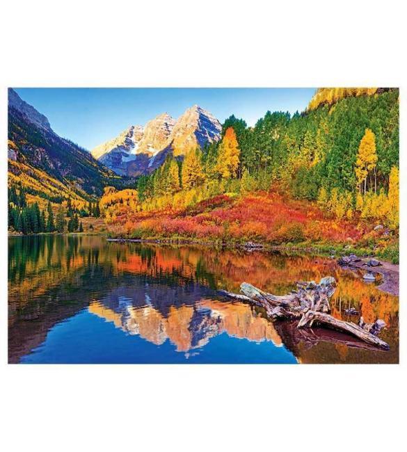 Пазлы Озеро Марун Аспен Колорадо 1000