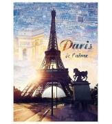 Пазлы Париж на рассвете 1000