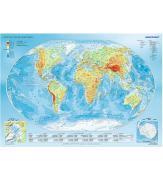 Пазлы Физическая карта мира 1000