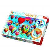 Пазлы Цветные воздушные шары 600