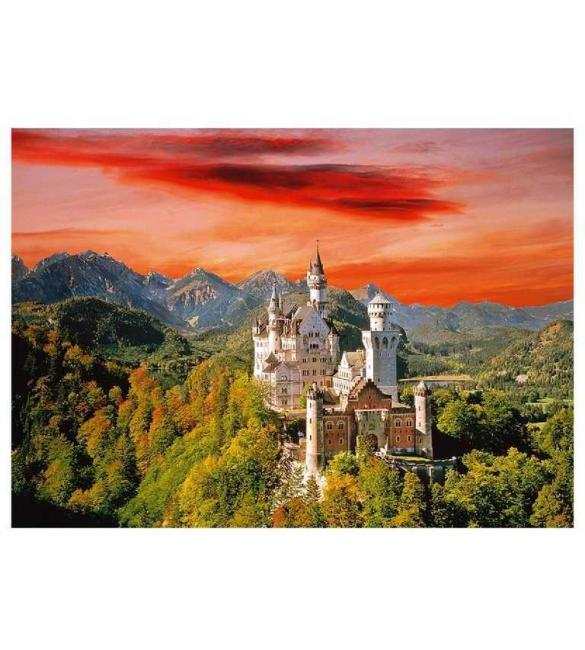 Пазлы Замок Нойшванштайн Бавария 2000