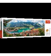 Пазлы Котор Черногория 500  панорамный