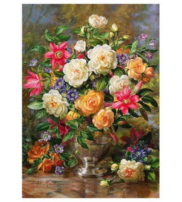 Пазлы Цветы для Королевы Елизаветы 4000