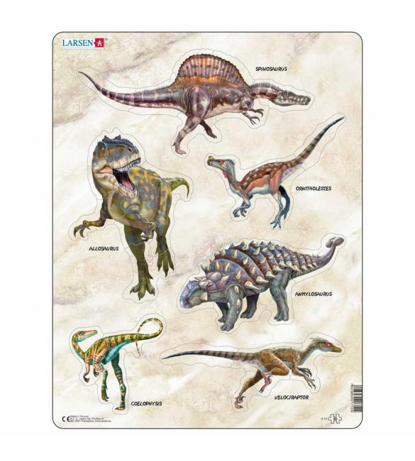 Пазлы Динозавры
