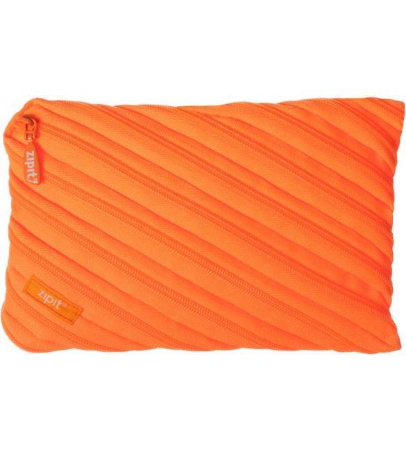 Пенал NEON JUMBO, цвет CRAZY ORANGE (оранжевый)