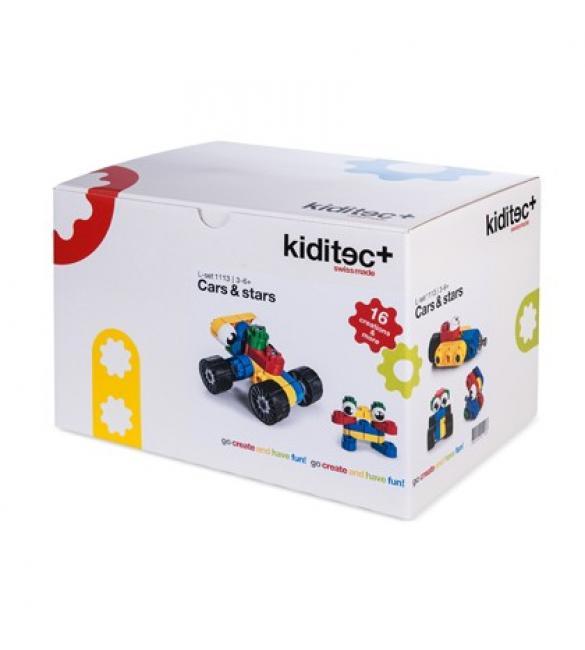 Конструктор Kiditec Cars & Stars