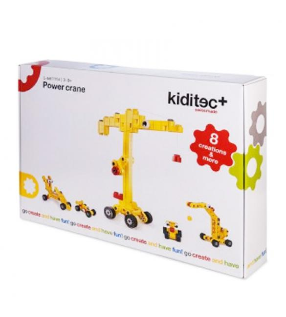 Конструктор Kiditec Power Crane Multi