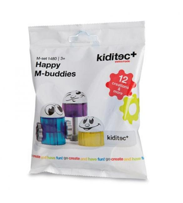 Конструктор Kiditec Happy M-Buddies
