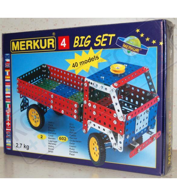 Конструктор металлический Меркур М4