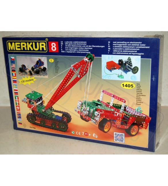 Конструктор металлический Меркур М8